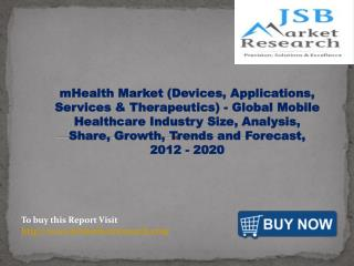 JSB Market Research - mHealth Market (Devices, Applications,