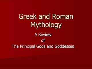 Greek views of Death