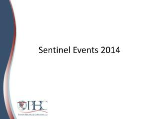 Sentinel Events 2014