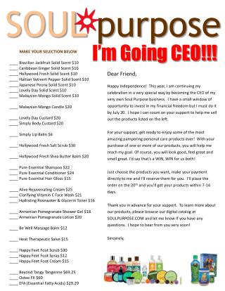 I'm Going CEO!!!
