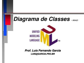 Diagrama de Classes  – 2014/1
