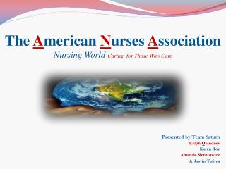 ANA Nursing World