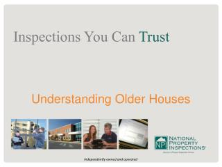 Understanding Older Houses
