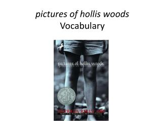 pictures of  hollis  woods Vocabulary