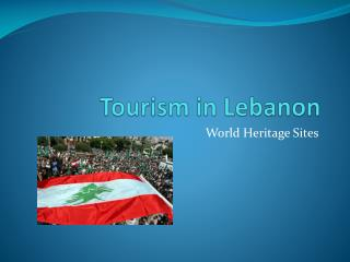 Tourism in Lebanon