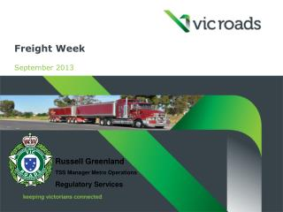 Freight Week September 2013