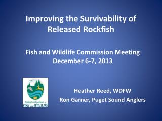 Improving the Survivability of Released Rockfish