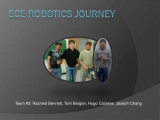 ECE Robotics Journey