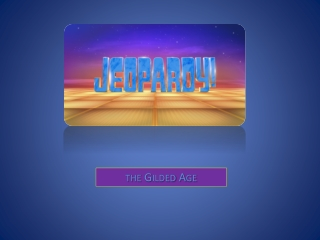 PHILANTHROPY JEOPARDY