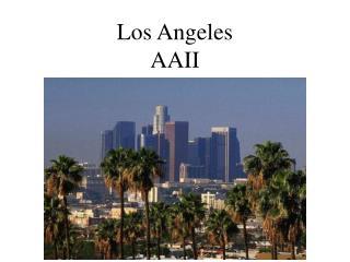 Los Angeles AAII