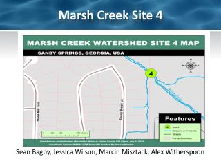 Marsh Creek Site 4