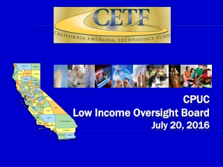 CPUC Low Income Oversight Board July 20, 2016