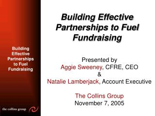 Building Effective Partnerships to Fuel Fundraising