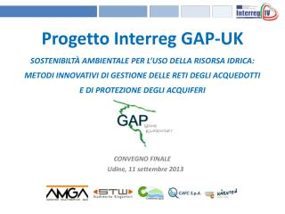 Progetto  Interreg  GAP-UK