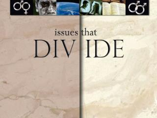 Issues that Divide