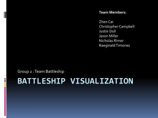 Battleship Visualization