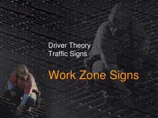 Driver Theory Traffic Signs