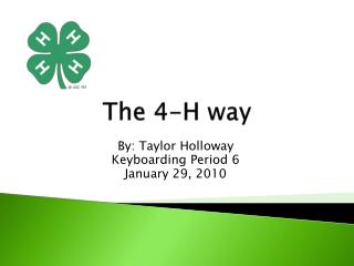 The 4-H way