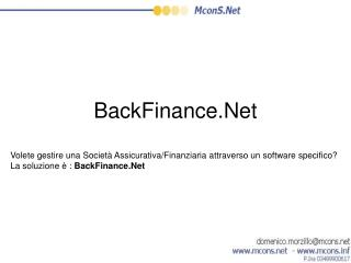BackFinance.Net