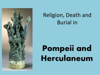 Religion, Death and Burial in