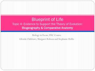 Biology in Focus, HSC Course Glenda Childrawi , Margaret Robson and Stephanie Hollis