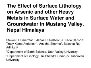 Dominant Paradigm for Arsenic Contamination of Groundwater in South Asia