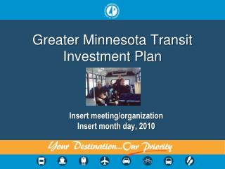 Greater Minnesota Transit Investment Plan