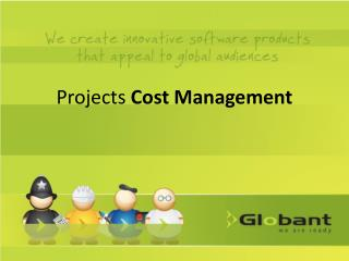 Projects  Cost  Management