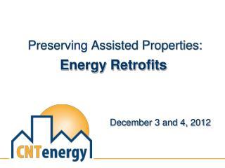 Preserving Assisted Properties: Energy Retrofits