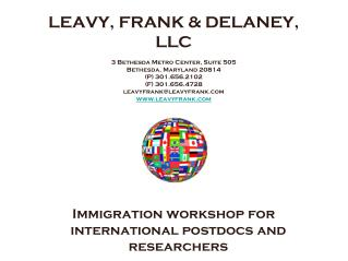 LEAVY, FRANK & DELANEY, LLC