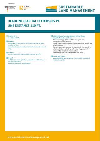 Headline 36 Pt. Line Distance 44 Pt.