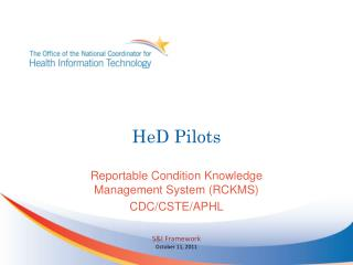 HeD Pilots