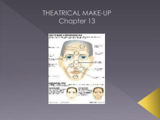 THEATRICAL MAKE-UP Chapter 13