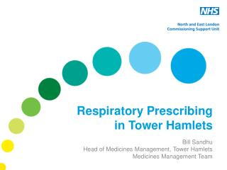 Respiratory Prescribing in Tower Hamlets