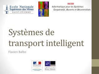 Systèmes de transport intelligent