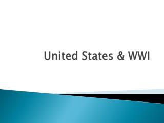 United States & WWI