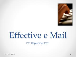 Effective e Mail