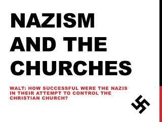 Nazism and the Churches
