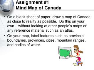 Assignment #1 Mind Map of Canada