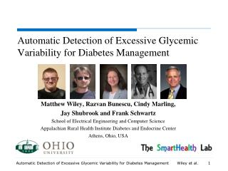Automatic Detection of Excessive  Glycemic  Variability for Diabetes Management