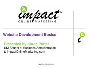 Website Development Basics