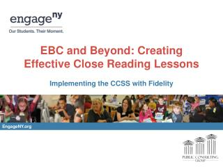 EBC and Beyond: Creating Effective Close Reading Lessons