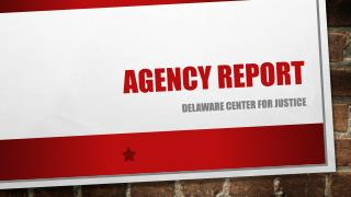 Agency Report
