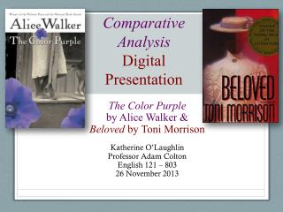 Comparative Analysis  Digital Presentation