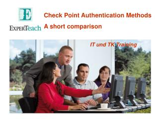 Check Point Authentication  Methods A  short comparison