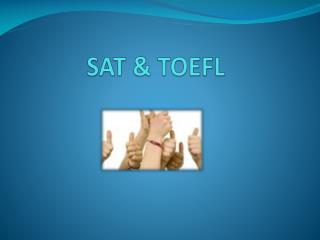 SAT & TOEFL