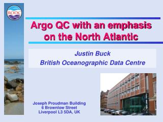 Argo QC with an emphasis on the North Atlantic