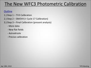 The New WFC3 Photometric Calibration