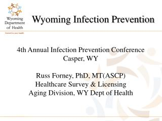 Wyoming Infection Prevention