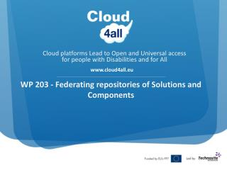 WP 203 - Federating repositories of Solutions and Components